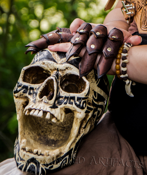 Claw Rings- for when you need to get the point across. Skull not included.