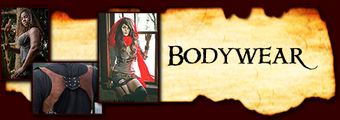 Bodywear- harnesses, armor, and more